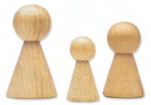 La merceria vetrina for Hobbistica legno